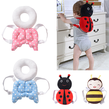Baby Head Protection Pad Toddler Headrest Pillow Neck Cute Wings Nursing Drop Resistance Cushion Protect - discount item  20% OFF Bedding