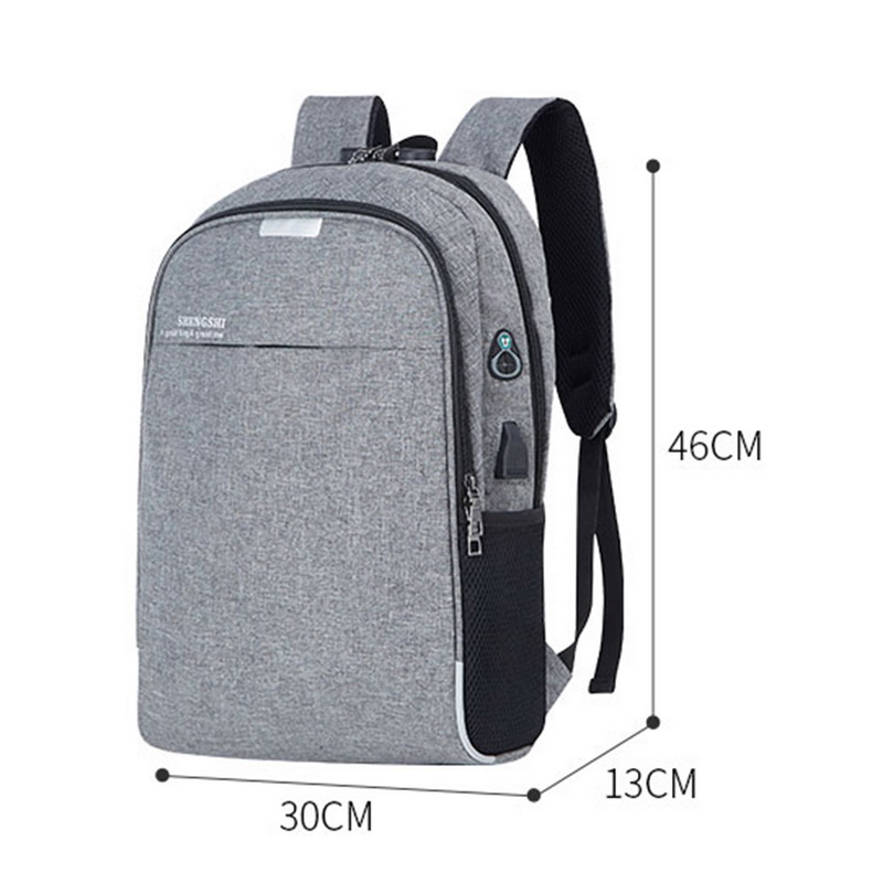 DIHOPE USB Charging LaptopTravel Backpack Anti Theft  For Women Men Travel&Work Waterproof Backpack Laptop School Bag Shoulder