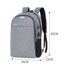 DIHOPE USB Charging LaptopTravel Backpack Anti Theft For Women Men Travel&Work Waterproof Backpack Laptop School Bag Shoulder(China)