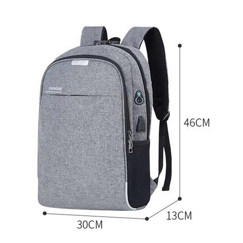 Dihope Sạc USB Laptoptravel Ba Lô Chống Trộm Dành Cho Nữ & Du Lịch Làm Việc Chống Nước Ba Lô Laptop Đi Học Túi