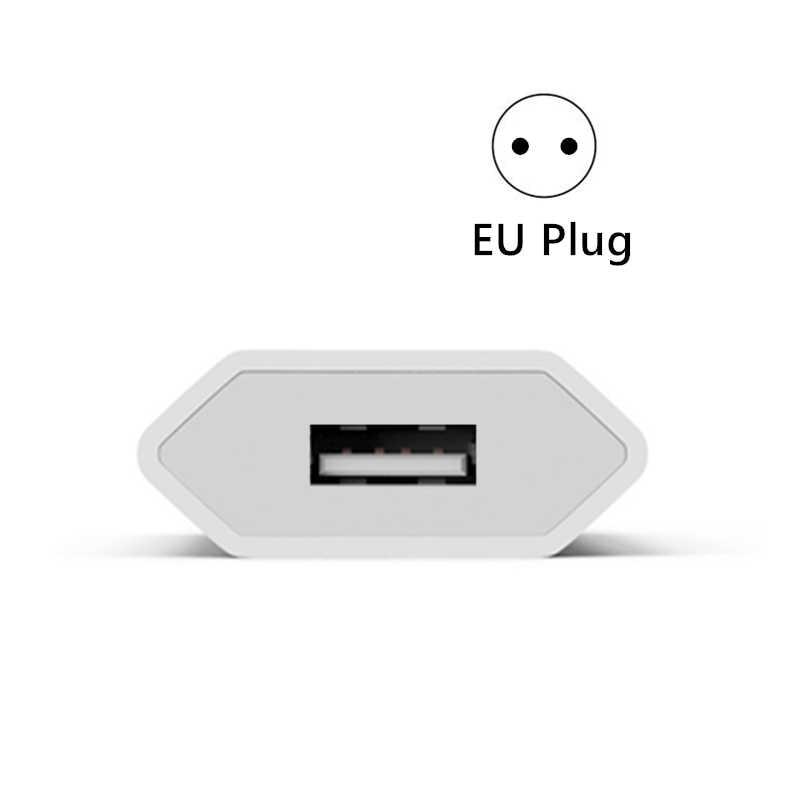 Kit Kabel USB + Eu Charger untuk iPhone 11 Pro 5 6S 6 7 8 Plus X XR XS max Se 1 M Kabel Pengisian USB Uni Eropa Plug Travel Charger Dinding