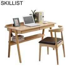 Mueble Notebook Office Tavolo Mesa Portatil Escritorio Pliante Nordic Bedside Laptop Stand Tablo Study Desk Computer Table