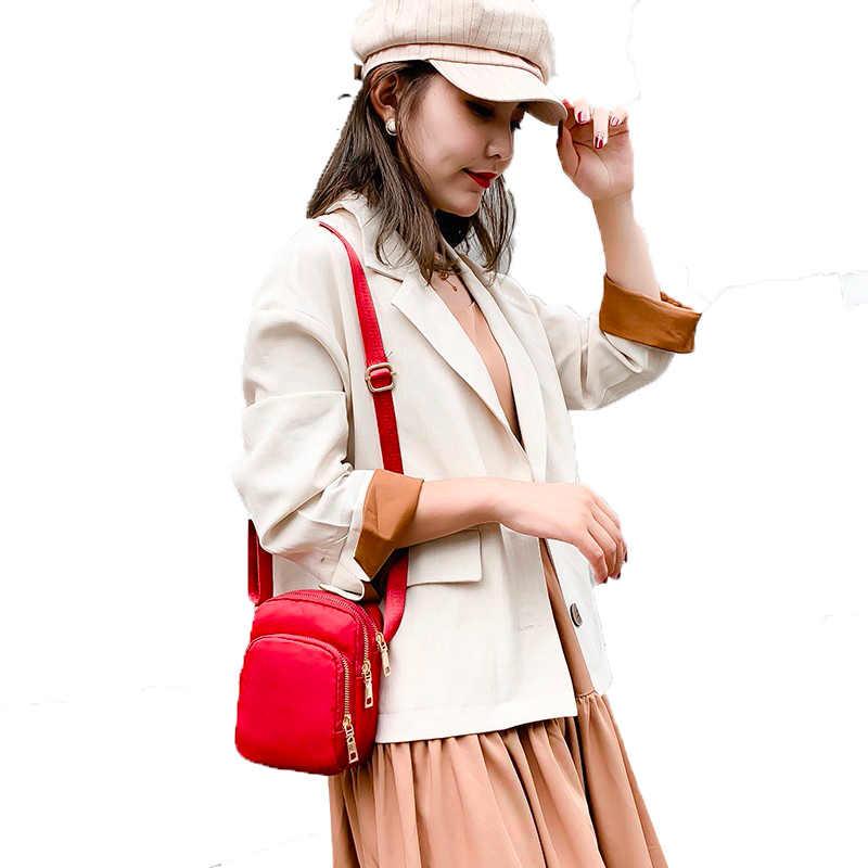 2019 חדש באיכות גבוהה נשים של תיק קטן ניילון נשים של שליח תיק קלאסי כתף תיק מכירה לוהטת גברת שקיות
