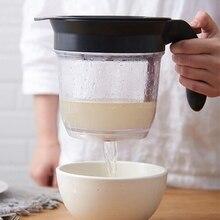 Креативный кухонный инструмент жировой сепаратор с нижним выпуском жировой сепаратор с фильтром для супа