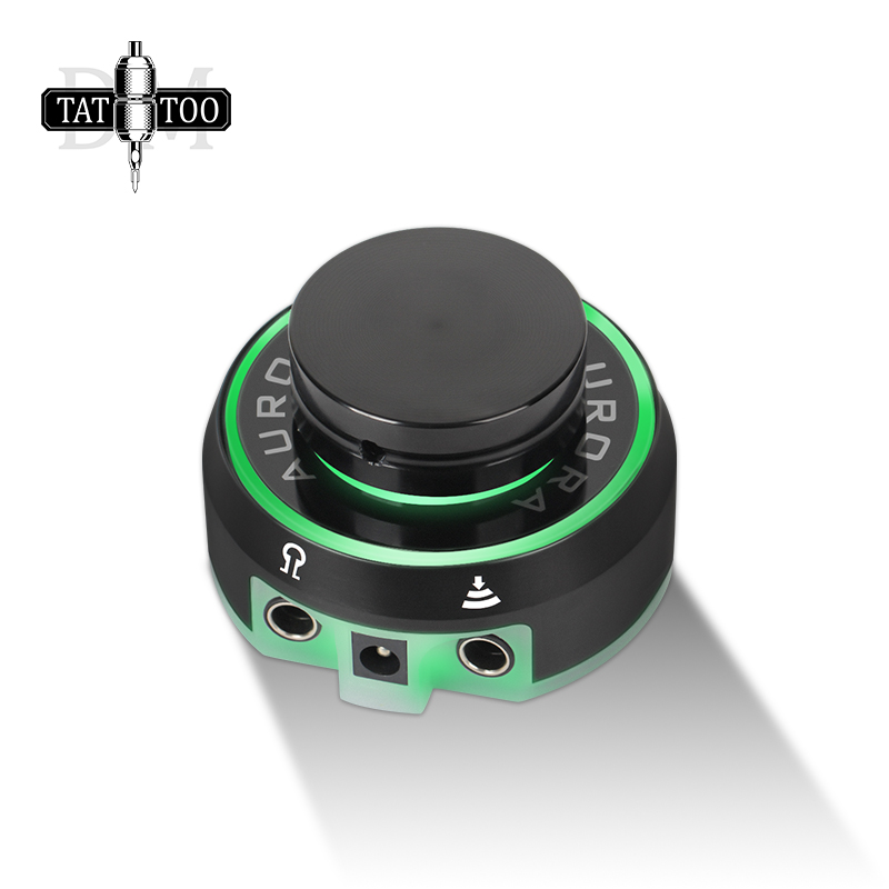 <font><b>AURORA</b></font> Tattoo Power Supply Professional Protable Makeup Power Tattoo Supply for Tattoo Machine image