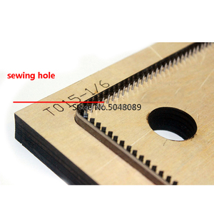 Image 2 - 2pcs/set Japan Steel Blade DIY leather craft Snap card holder coin bag die cutting puncher hand tool