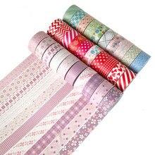 10 Pcs/Set washi tape Christmas masking Cartoon cinta adhesiva decorativa Kawaii washitape stickers scrapbooking