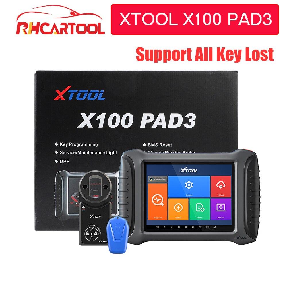 XTOOL X100 PAD3 Car Auto Key Programmer X100 PAD Elite Obd2 Diagnostic Odometer Adjustment All Key Lost For Toyota For Lexus