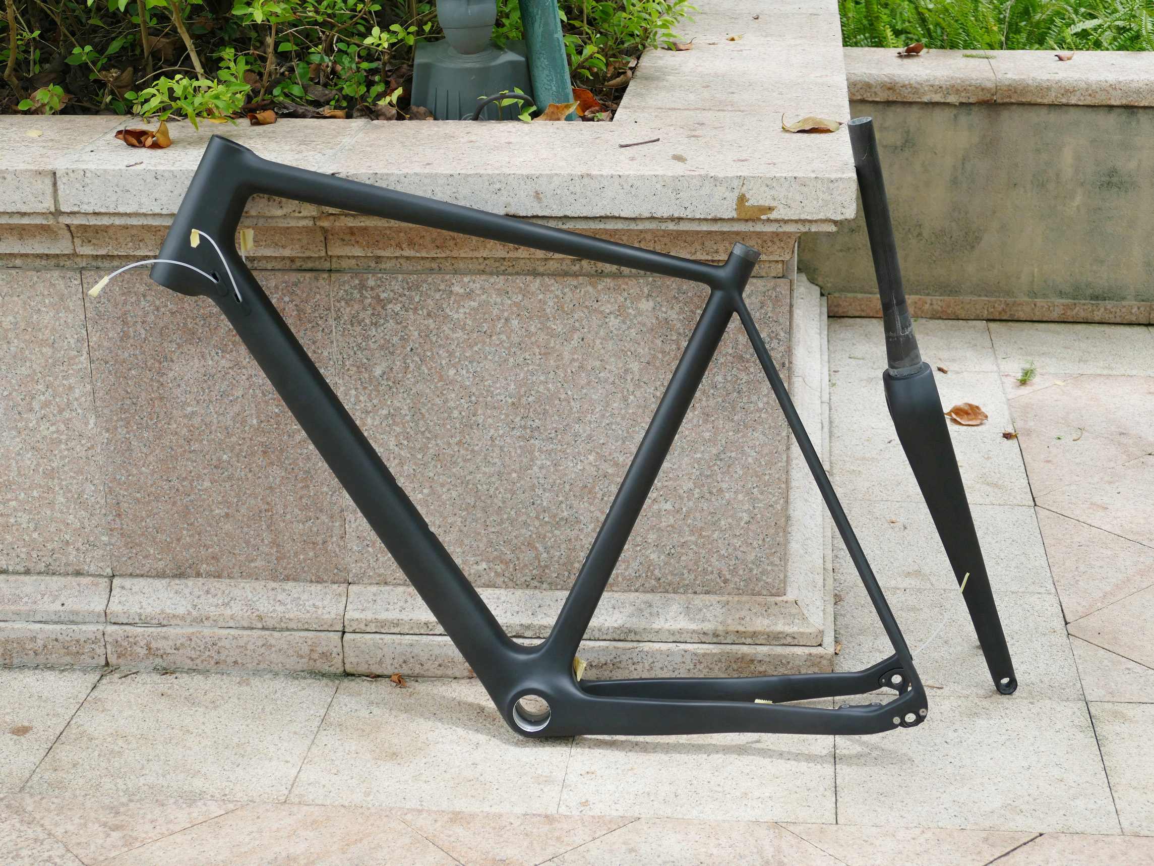 Disc-Brake Fork Bb30-Frame Cyclocross Bike Full-Carbon-Toray-Matt BSA Thru-Axle 15--100mm title=
