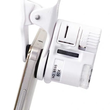 Microscope-Camera Magnifying Phone Macro-Lens Led-Light Zoom Digital Mobile with Universal