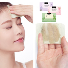 Natural Plant Oil Absorbing Face Paper 100 pcs Premium Face Oil Blotting Paper Large Size 9.5x6.5cm Oil Absorbing Sheets Clean