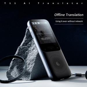 Image 5 - 138 שפות T11 נייד חכם קול מתורגמן אמת זמן רב שפה הדיבור אינטראקטיבית מקוונים מתורגמן עסקי נסיעות