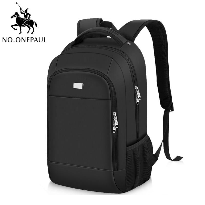NO.ONEPAUL Men Women Backpack Fashion Punk School Bags Work Travel Shoulder Bag Multiple Styles Laptop Backpack Bag Men Business