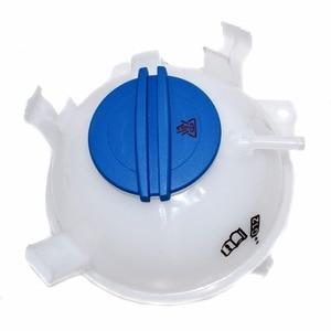 Image 5 - ISANCE Coolant Reservoir Expansion Tank + Cap 1K0121407A For VW CADDY EOS GOLF JETTA PASSAT TIGUAN AUDI A3 TT SKODA 1K0121407A
