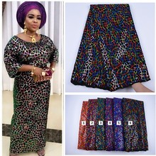 Garment Lace-Fabric Sequins Velvet Nigerian African High-Quality New-Design with French