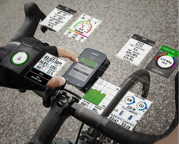 קנו רכיבה על אופניים   Garmin Edge 130 GPS-Enabled MTB Cycling Bicycle Computer Road Bike Computer cycling Waterproof PK Bryton 310 330
