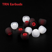 comfortable TRN 3 Pairs 4.5mm L/M/S In Ear Silicone Case Eartips Earbuds Ear Tips Headphone Ear Cushions Cap for TRN X6/V30 comfortable trn 3 pairs 4 5mm l m s in ear silicone case eartips earbuds ear tips headphone ear cushions cap for trn x6 v30