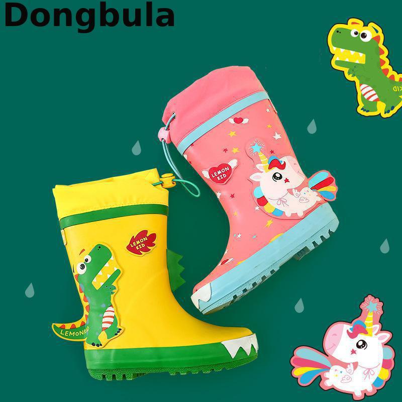 Jednorożec kalosze dla dzieci chłopcy dziewczęta kalosze nowe buty śnieżne dla dzieci wodoodporne buty antypoślizgowe buty do wody dla dzieci