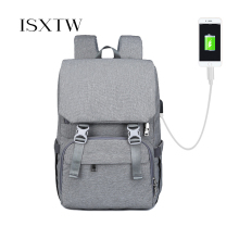 ISXTW Outdoor Travel Backpack For Women Waterproof Sports Camping Hiking Fishing Bag has convenient charging interface /C37