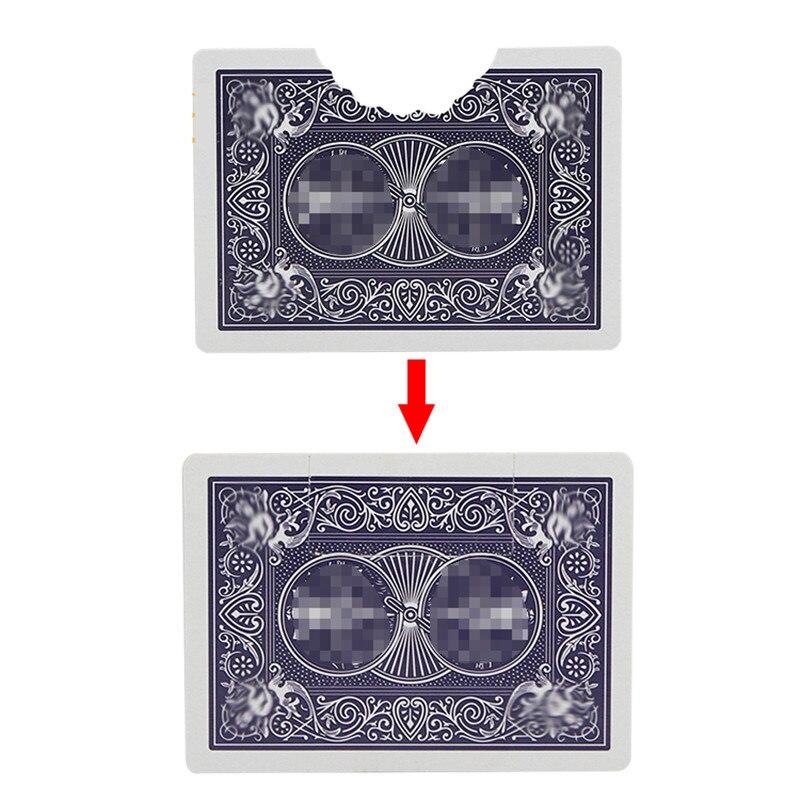 Carte A Mordre Cartes Tours De Magie Accessoires De Magie Scene Illusions Mentalisme Gros Plan Magia Comedie Jouets Magiques Facile A Faire Leather Bag