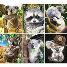 Pdmdog Алмазная картина полностью квадратная коала вышивка продажа