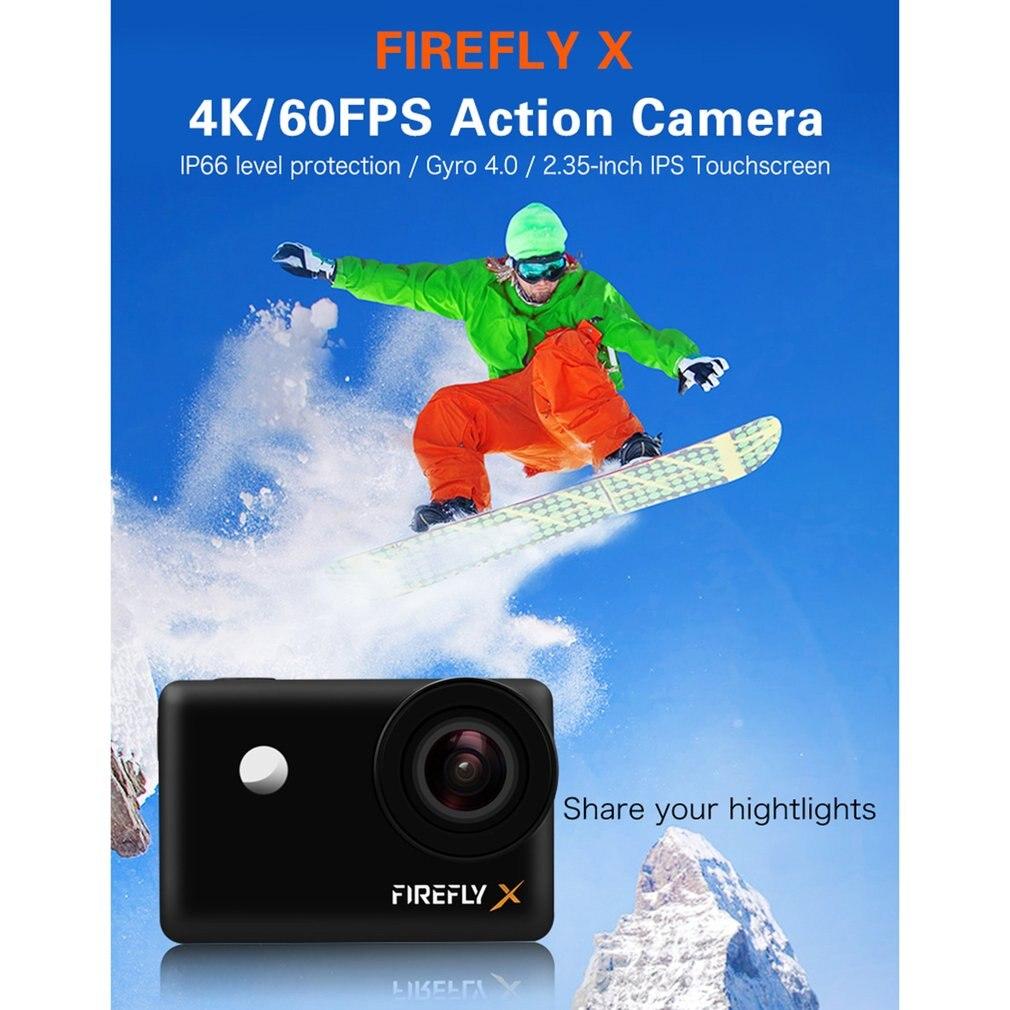 Câmera de ação do firefly x firefly