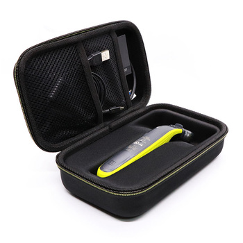 Besegad, Afeitadora eléctrica portátil de viaje EVA, bolsa de transporte, organizador de almacenamiento para Philips OneBlade QP6520 QP6510 QP150