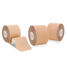 Ruban de sport élastique en coton 10 pièces, bande adhésive pour kinésiologie, exercice, protection musculaire pour femmes bricolage Bandage étanche soutiens gorge