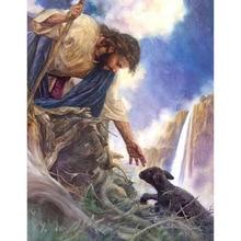 Jesus Save Lamb Diamond Painting Cross-Stitch Mosaic Living Room 5d diamond painting new arrivals