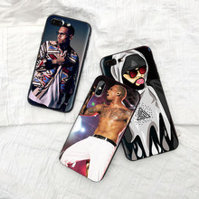 Chris Brown Breezy Case For iPhone XS Max XR Soft Silicone Cover For iPhone X XS 6 6S 7 8 Plus Coque Funda(China)