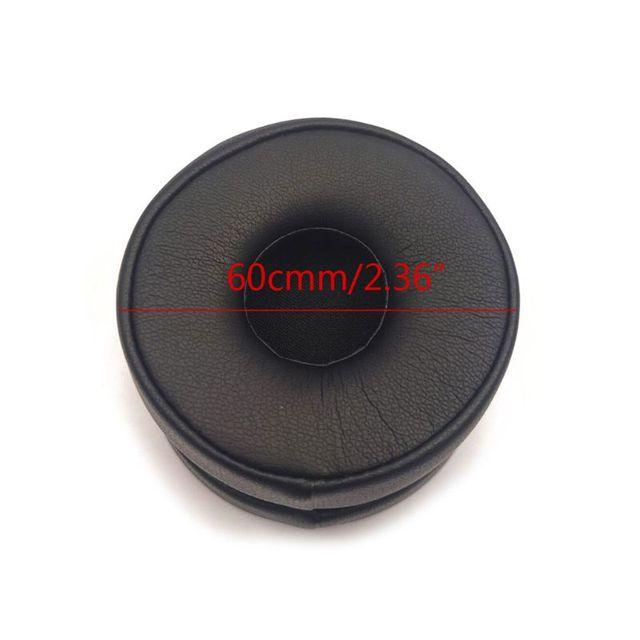 OOTDTY 1 Pair Foam Ear Pads Cushion Cover for AKG N60NC N60 Wired Wireless Headphones