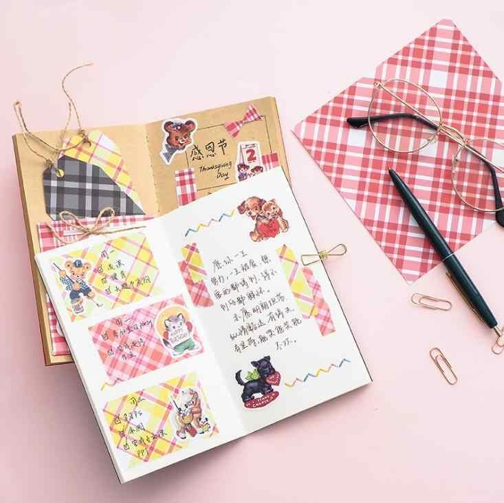 12 Vellen Speciaal Papier Dagboek Decoratieve Materiaal Achtergrond Materiaal Base Journal Levert Plakboek Diy Sticker IME1265