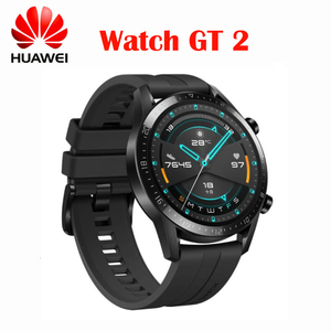Image 1 - オリジナルhuawei社腕時計gt 2 スマートウォッチブルートゥース 5.1 boold酸素トラッカー 14 日バッテリ寿命のbluetooth通話心拍数最新