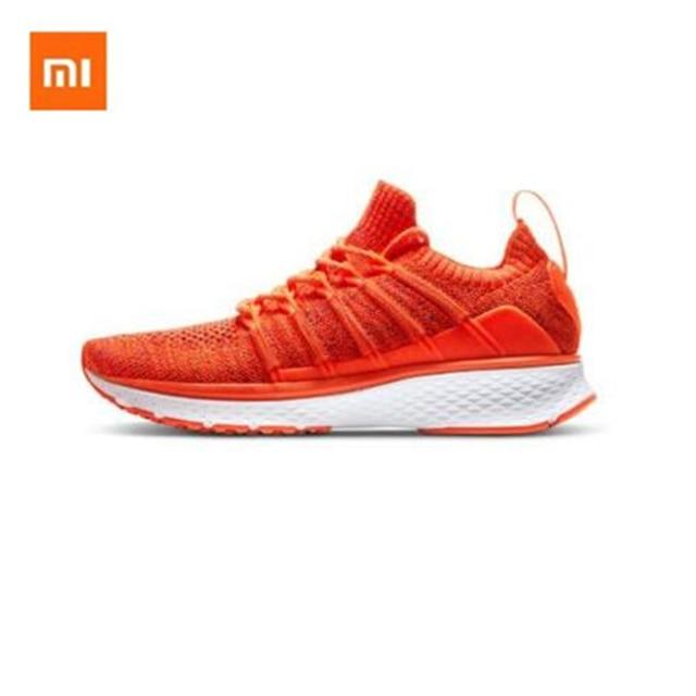 New Original Xiaomi Mijia Sneaker Womens Running Shoes Fishbone Lock Design Uni moulding Techinique Elastic Knitting Vamp