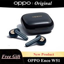 OPPO Enco W51 TWS Kopfhörer Bluetooth 5,0 ANC Geräuschunterdrückung Drahtlose Kopfhörer Für Reno 4 SE Pro 3 Finden X2 pro ACE 2