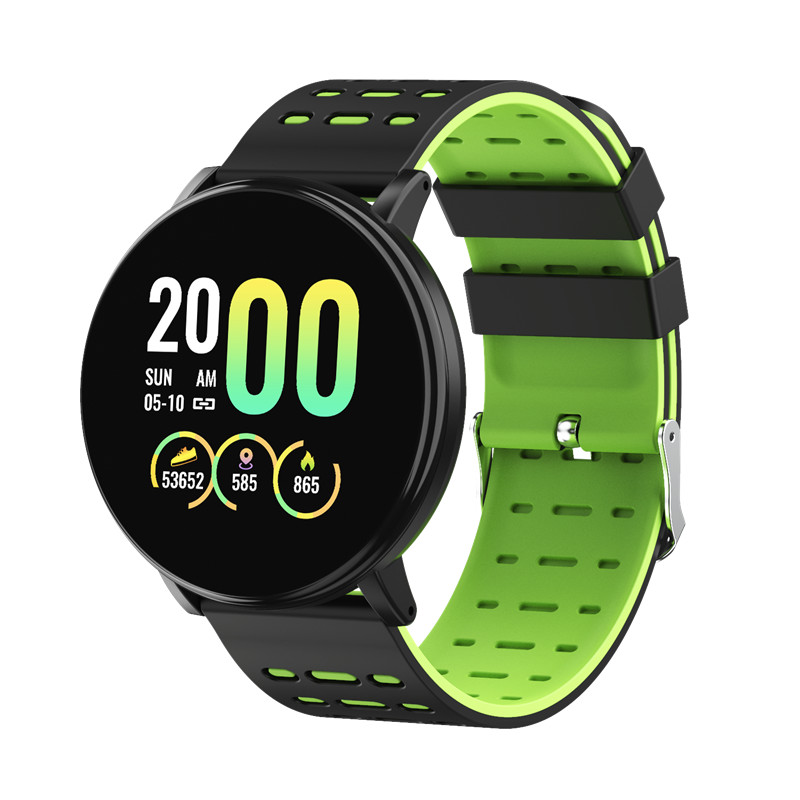 1.3in 4.0BT IP68 Waterproof Sport Smart Watch Heart Rate Monitor Multiple Sports Modes Bracelet Fitness Trackers For Android IOS