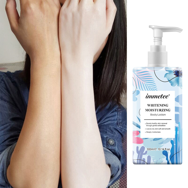 300ml Body Lotion Daily Moisturizing Lotion for Dry Skin with 5% Niacinamide and Vitamin E Natural Body Moisturizer 1