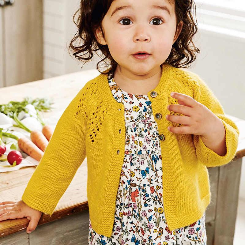 큰 할인 가을 어린이 얇은 스웨터 만화 동물 자수 아기 소녀 소년 니트 카디건 스웨터 키즈 코트