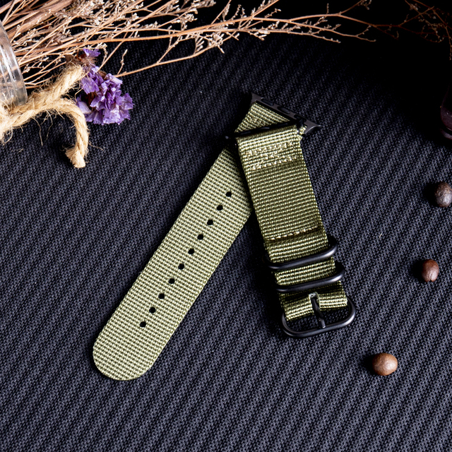 Nylon Fabric Band for Apple Watch 1