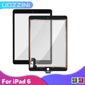 AAA + + + Touch dla iPad 6 ekran dotykowy szkło Digitizer brak zamiennik z przyciskami dla iPad 6 A1566 A1567 ekran dotykowy 100 testowane tanie i dobre opinie uozzini NONE Panel dotykowy do tabletu CN (pochodzenie) 7 ~ 10 cal For Apple iPad 6 Air 2 A1567 A1566 Ekran pojemnościowy