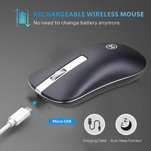 Ergonomic Wireless Rechargeable Mouse