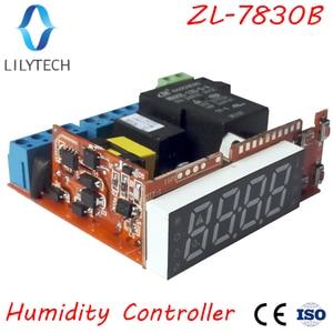 Image 5 - ZL 7830B 、 30A リレー、 100 240Vac 、デジタル、湿度コントローラ、恒湿、アラーム出力、 lilytech