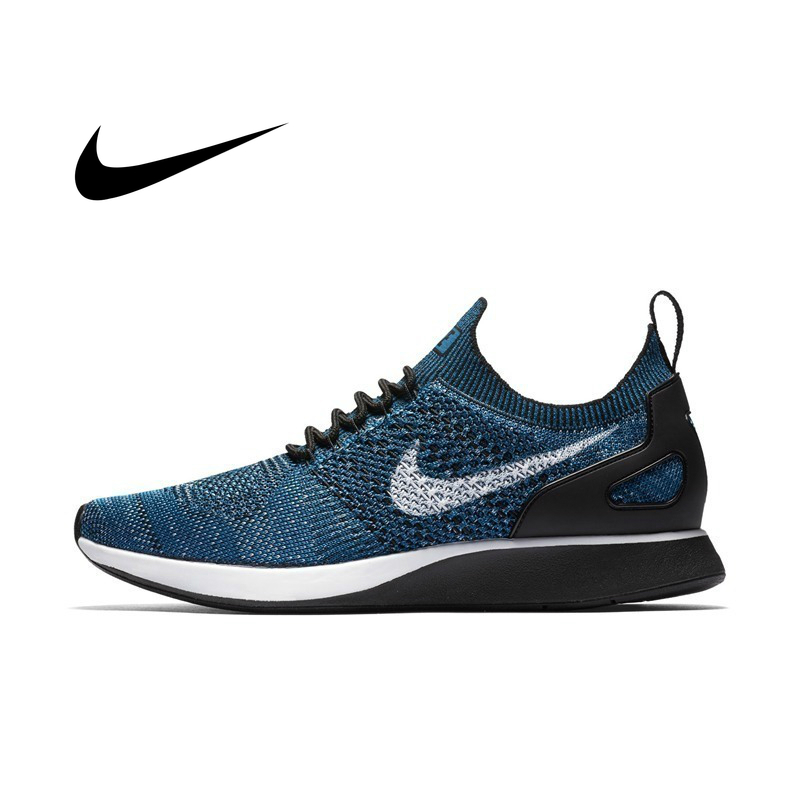 Original Authentic NIKE AIR ZOOM MARIAH FLYKNIT RACER Men's Running Shoes Athletic Sneakers Cozy Sports Outdoor  Lightweight