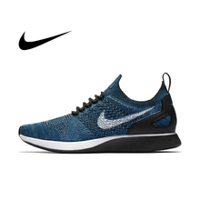 Original Authentic NIKE AIR ZOOM MARIAH FLYKNIT RACER Men's Running Shoes Athlet