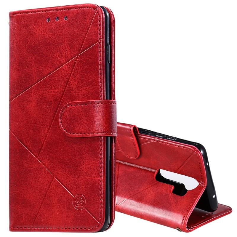 Leather Flip Case For Redmi 7 8 A Note 7 8 Pro T Wallet Cover Redmi K 20 30 Pro Mi A3 CC9E Xiaomi 9 Lite CC9 Phone Fundas(China)