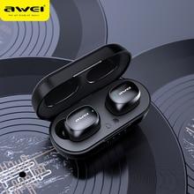 AWEI T13 TWS HiFi Sport Earbuds Bluetooth 5.0 True Wireless Stereo Headphone Fast Pairing T