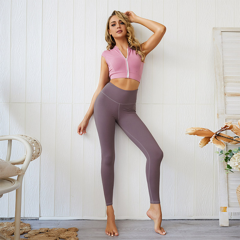 Big Discount E2a8d Europe And The United States New Peach Fitness Pants Jin Imitation Cotton Yoga Pants Sports Leggings Tight Fitness Pants Bn Thescoutmagazine Co