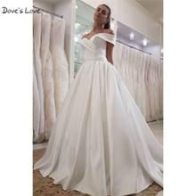 Простые Свадебные платья размера плюс свадебное платье 2020
