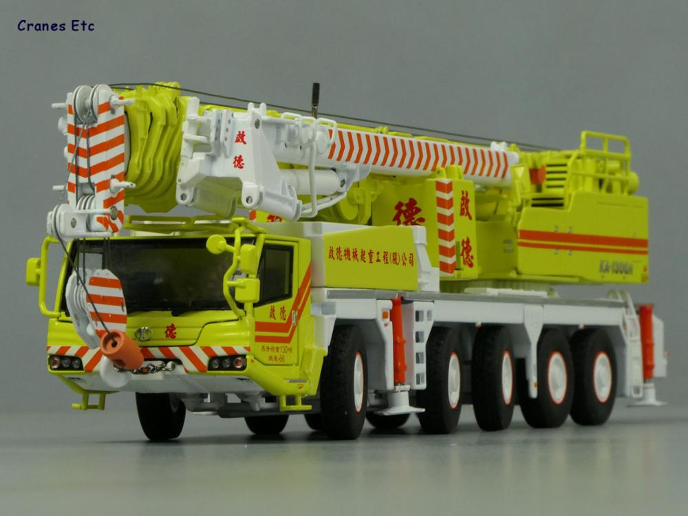 New Color 1:50 KATO KA-1300R Colours Of The Taiwanese Crane Model, Diecast Model, Limited Edition Model, Free Shipping