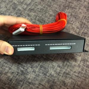 Image 2 - 1A 2A 5A 10A denge lityum pil aktif ekolayzır Bluetooth 2 ~ 24S BMS Li ion Lipo Lifepo4 LTO dengeleyici koruma levhası